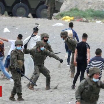 Ceuta: Spain sends troops as 6,000 migrants enter enclave