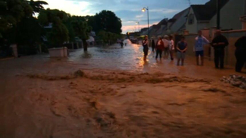 Inondations: après de nouveaux orages, un deuxième soir sous les eaux en Seine-et-Marne