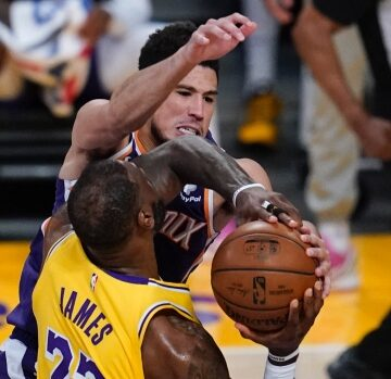 Suns eliminate Lakers; hand LeBron first opening round exit of his career