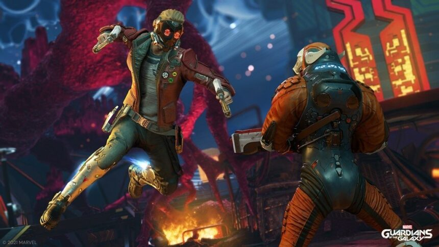 """""""Marvel's Guardians of the Galaxy"""": Star-Lord hechtet ins Action-Adventure"""