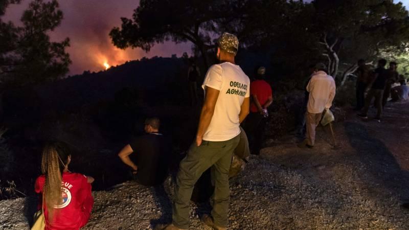 Bosbranden op Cyprus eisen vier levens