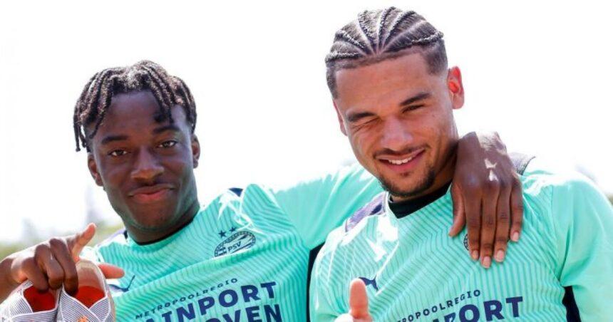 Aan Borussia Dortmund gelinkte Madueke: 'Als ik speel, dan is het goed'