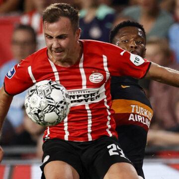 CL-Quali: Doppelpacker Mario Götze glänzt bei Eindhovens Hinspiel-Erfolg gegen Galatasaray Istanbul