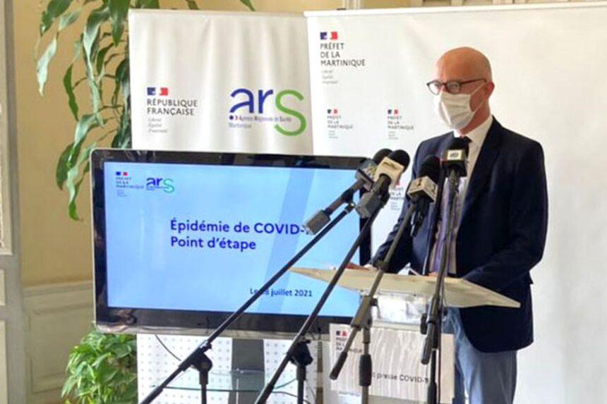 4e vague de Covid en Martinique : reconfinement pour 3 semaines et couvre-feu avancé à 19h
