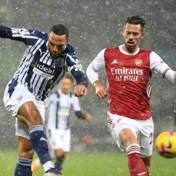 West Brom v Arsenal kick-off time, TV and streaming details