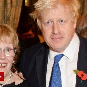Boris Johnson's mother, Charlotte Johnson Wahl, dies aged 79