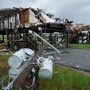 Tropical Depression Nicholas could hamper recovery in Louisiana, which is still staggering after blow from Hurricane Ida