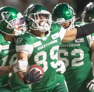 Riders' offence comes to life in win over Argonauts