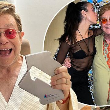 Sir Elton John tops UK singles chart for the first time in 16 years with Dua Lipa collaboration