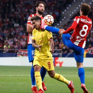 Champions League: Griezmann trifft, tritt und fliegt