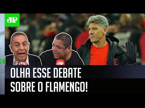 """""""Isso é uma PALHAÇADA! O Renato Gaúcho TEM RAZÃO!"""" OLHA esse DEBATE sobre o Flamengo!"""