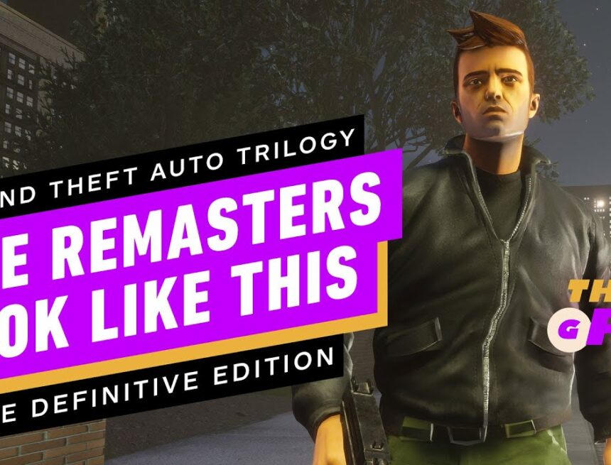 We Finally Know What the GTA Trilogy Remasters Look Like